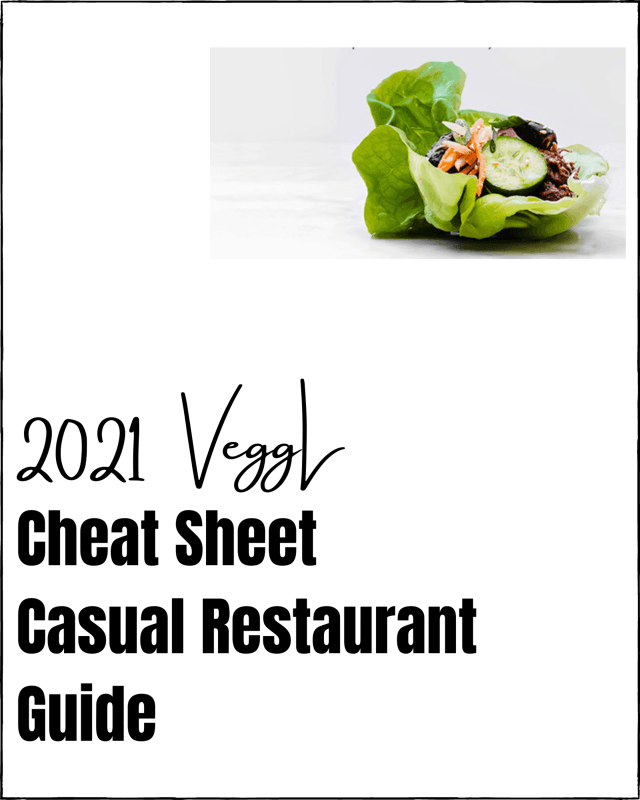2021 Casual Restaurant Guide