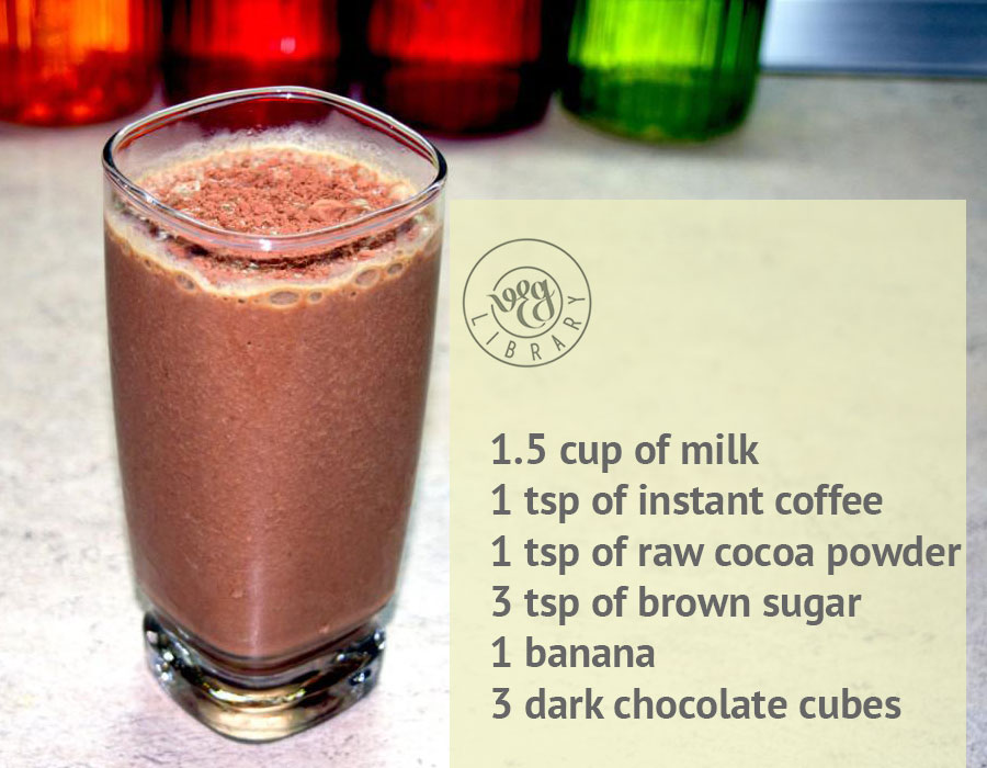 Creamy Coffee Smoothie Vegetarian recipe