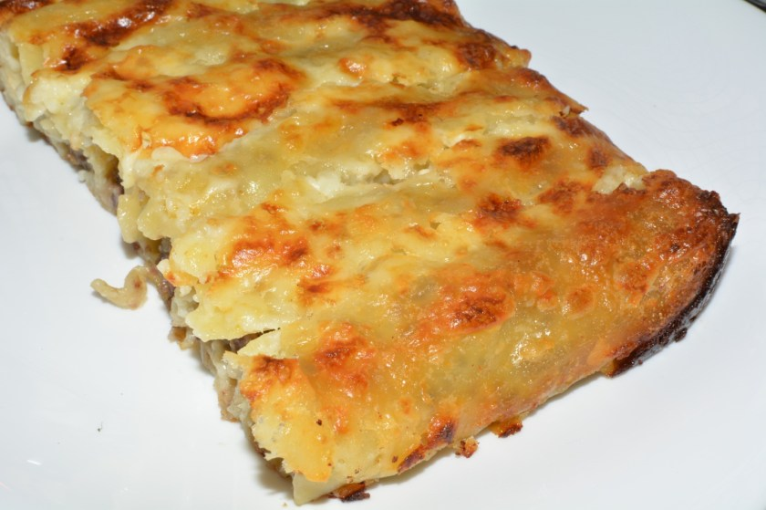 Mushroom Cannelloni, Vegetarian Recipe, VegLibrary.com
