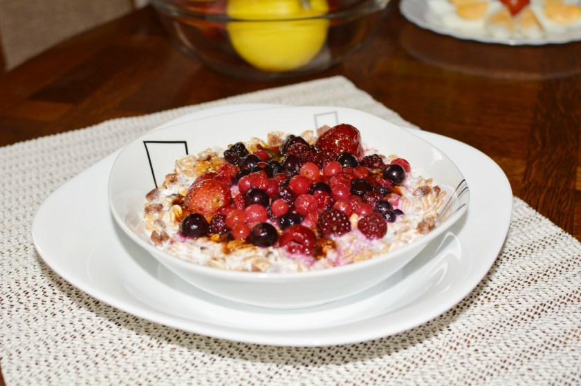Wild Berries Musli - Vegetarian Recipe