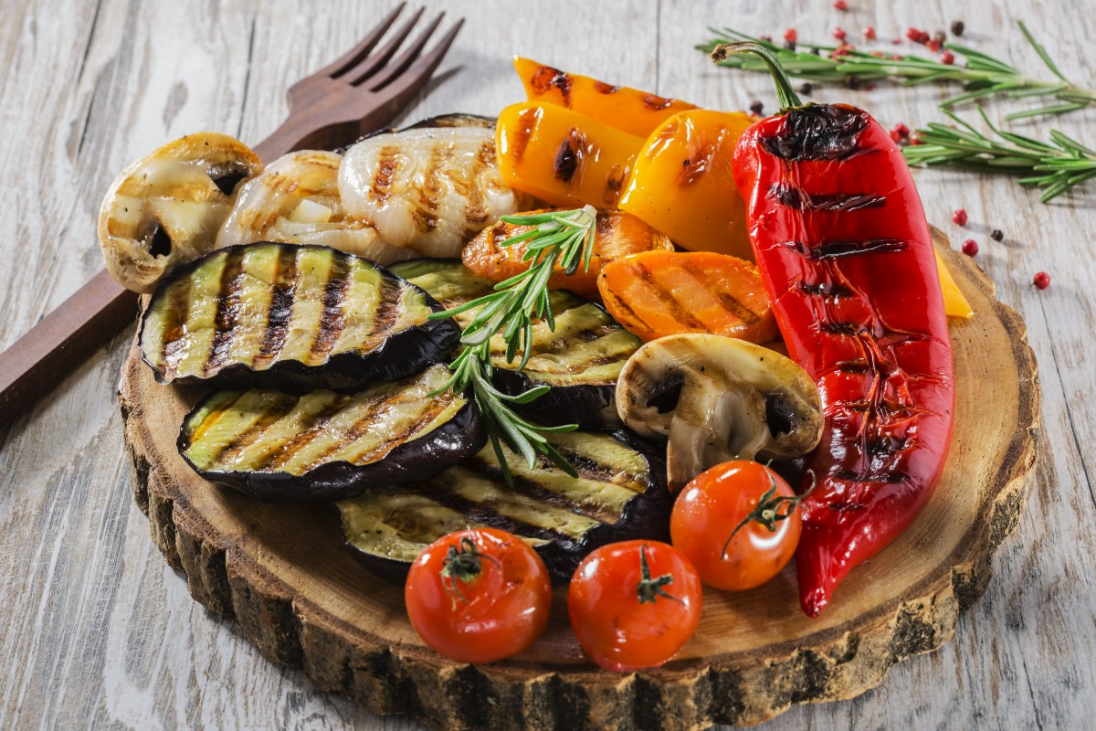 Grilled Vegetables Platter – Vegan Recipe