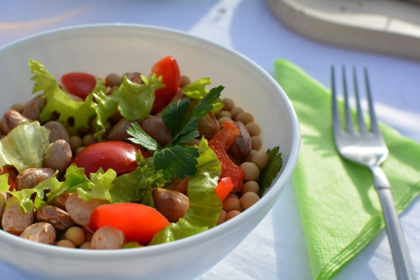Mediterranean Bean Salad - Vegan Recipe