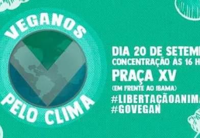 Participe do evento Veganos pelo clima