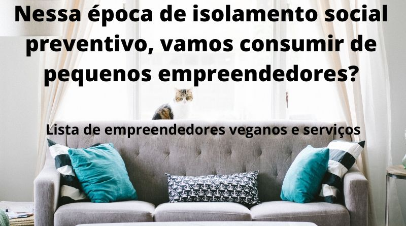 Lista de empreendedores veganos e serviços