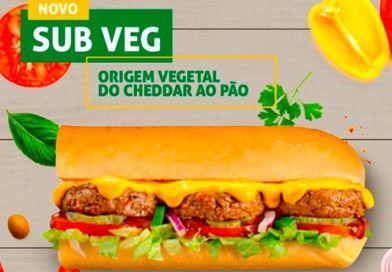 Rede de sanduiches Subway divulga imagens de primeiro lanche vegano