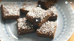 Chokladfudge på 3 ingredienser! 28