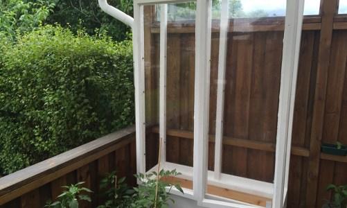 Building a Balcony Greenhouse
