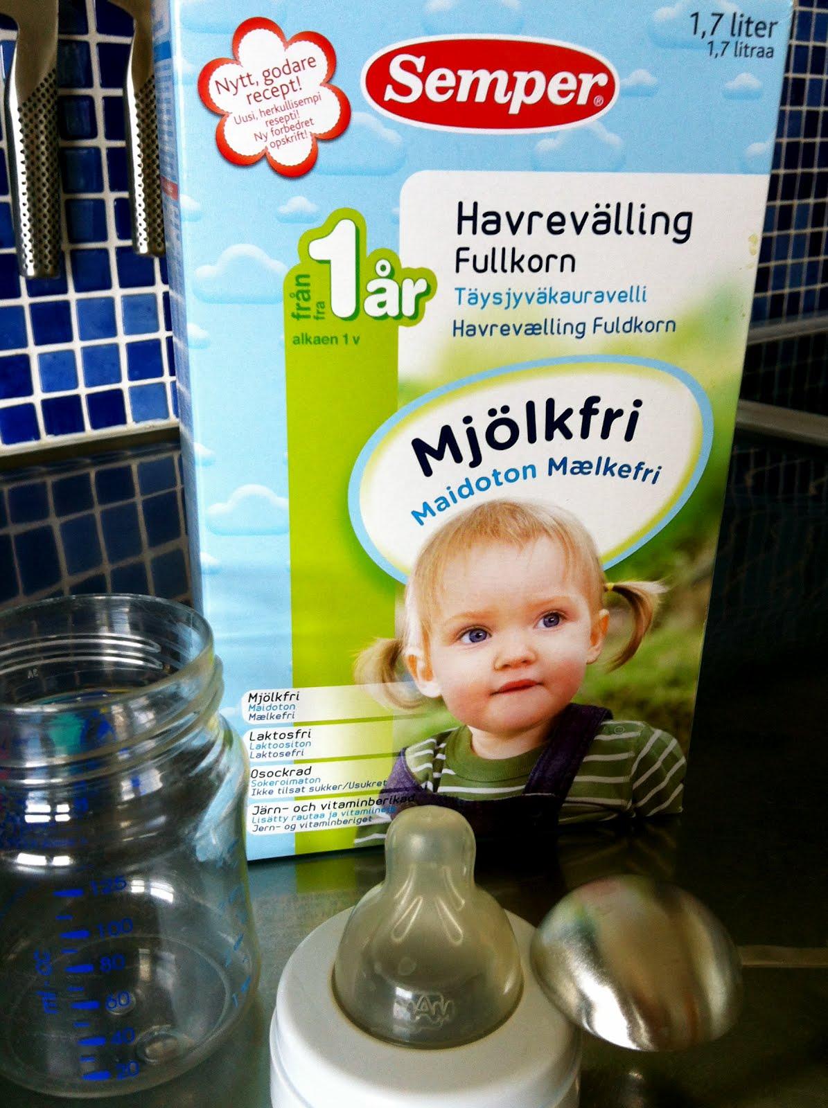 semper mjölkfri havrevälling
