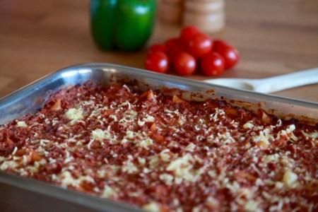 Recept barnens lasagne vegan