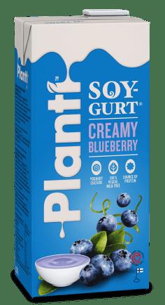 Planti SoyGurt Creamy Blueberry 0.75L RGB