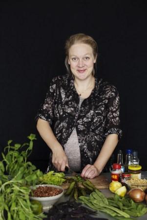 Bönor ärtor och linser, Författarporträtt Jenny Damberg, Foto Ulrika Ekblom