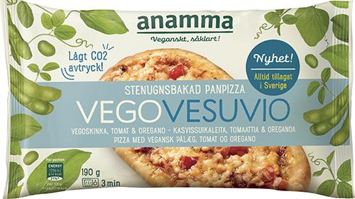 Förpackning med minipizza