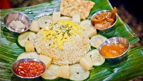 Sri Lankan and Singaporean food at The Banana Leaf