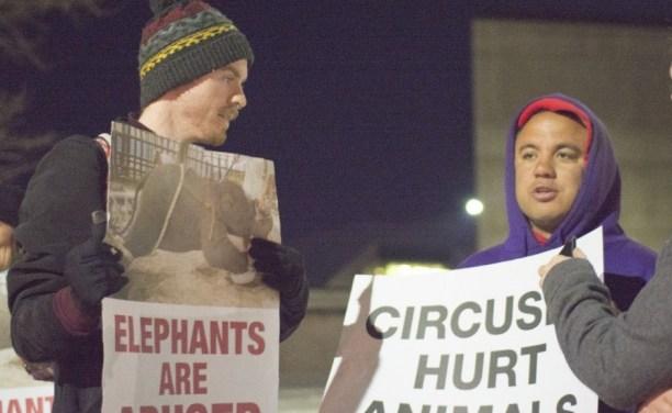 Animal rights activists target UCCU circus