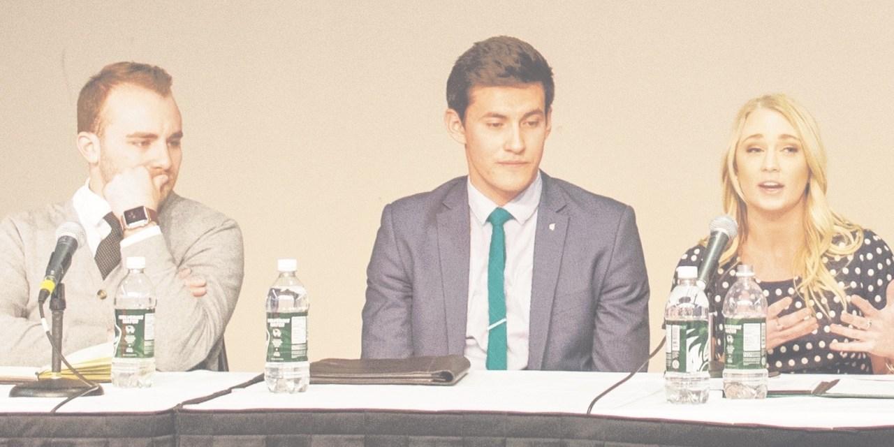 Allocating student fees, diversity headline elections debate
