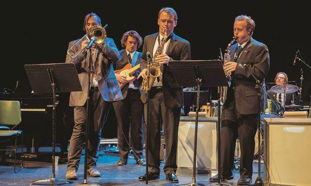 Jazz ensemble plays new music using classic methods