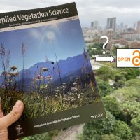 Editorial: About the possibility of Applied Vegetation Science going Gold Open Access