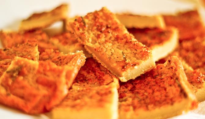 Farinata di Ceci alla Toscana (gluten free)