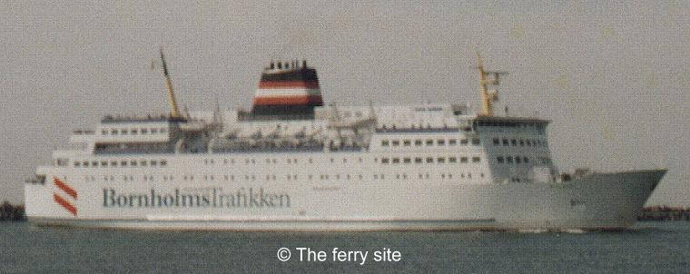 Ferryboat para Bornholm