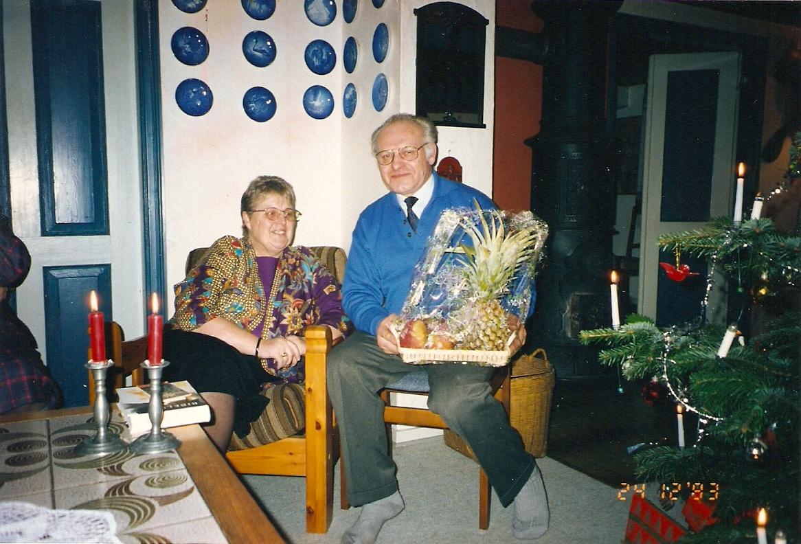 Christa e Vagn Ipsen, meus pais dinamarqueses