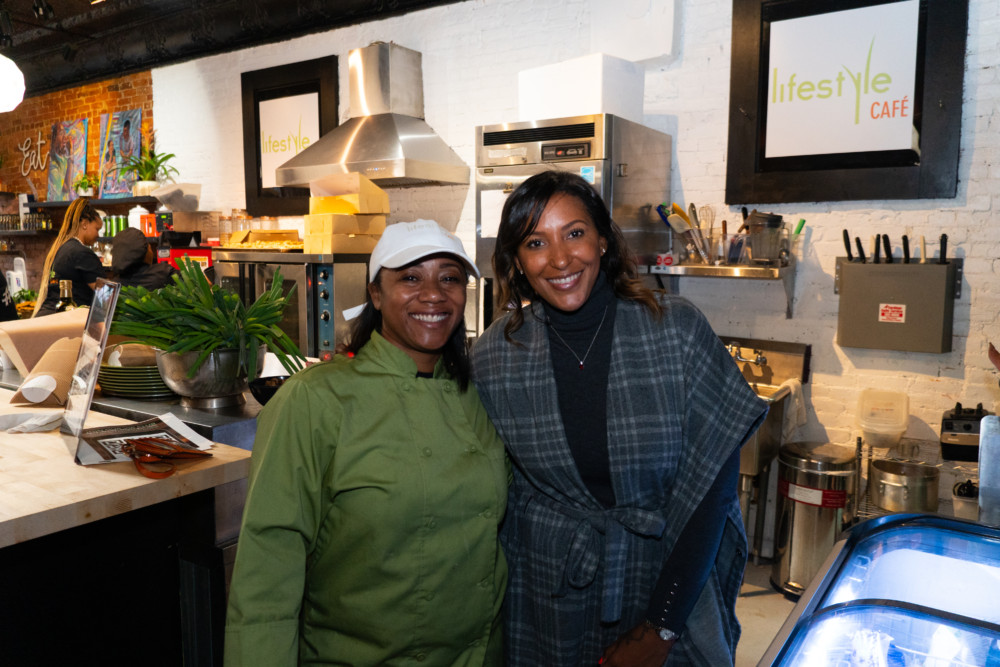 Black-Woman-Owned Vegan Cafe Opens in Ohio from Serial Entrepreneur