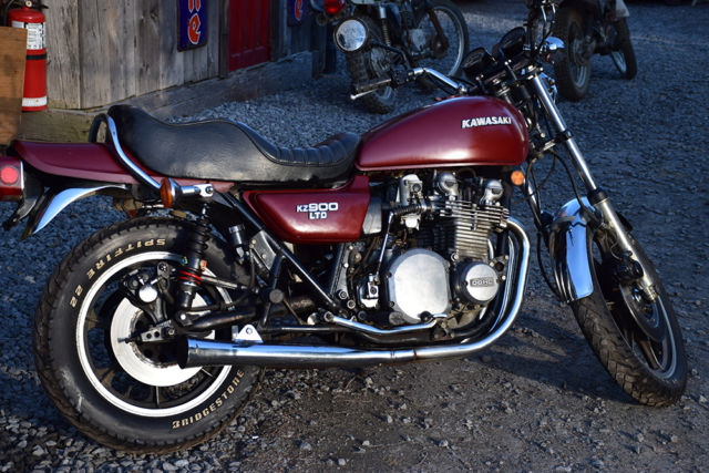 Kz900 Ltd Kz900b Limited Kawasaki Z1 Vintage 1 Year
