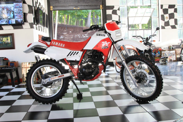Yamaha Tt225 Absolutely Showroom Condition Museum