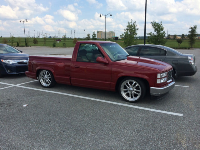 1993 GMC Sierra Stepside Customized Lowered Bed Cover