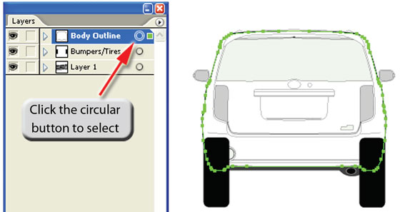 Preparing Vehicle Template For PhotoShop 2