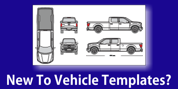 New To Vehicle Templates? Guide to Designing Wraps