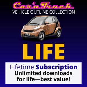 Lifetime Vehicle Templates Subscription