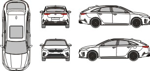 KIA Pro Cee´d 2019 vehicle template