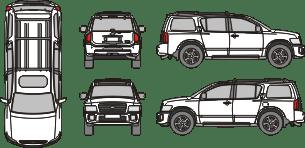 INFINITI QX56 2004 Vehicle Template