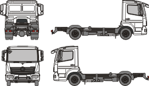MERCEDES BENZ Atego S 2013 template