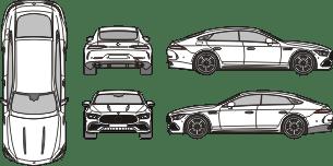 MERCEDES BENZ GT 2018 template