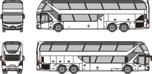 NEOPLAN Skyliner 2015 template