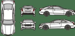 CADILLAC ATS 2015 Vehicle Template