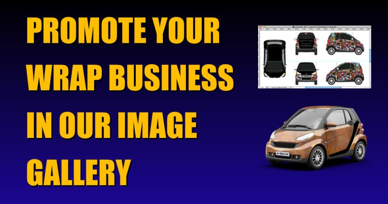 Promote Your Wrap Business In Our Image Gallery Header