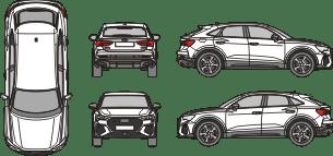 AUDI Q3 2020 Vehicle Template