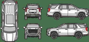 GMC Yukon AT4 2021 Vehicle Template