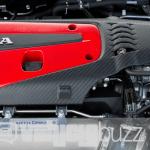 photo of Honda Civic Type R engine block