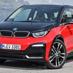 photo of red and black sport model 2018 BMW i3 electric car
