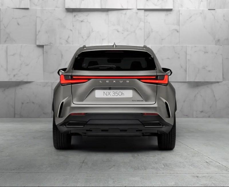 New Lexus NX 350h 2021