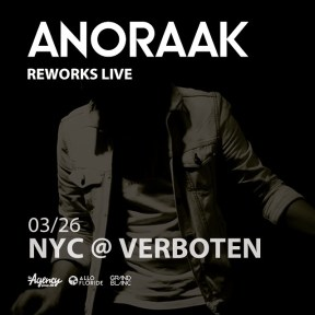 Anoraak at Verboten