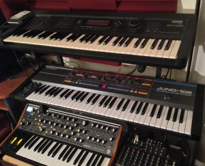 Some of Hecher's gear. Photo Credit: Hecher.