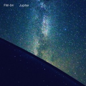 "Cover art for FM-84's ""Jupiter"" single. Photo Credit: Col Bennett."