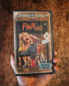 The uber meta homage to 80s slasher films, 'The Final Girls,' is a Vehlinggo favorite. I'm glad Steelberg made a cover for it.