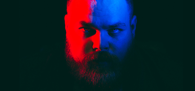 Seth Haley is Com Truise. Photo Credit: Ghostly.