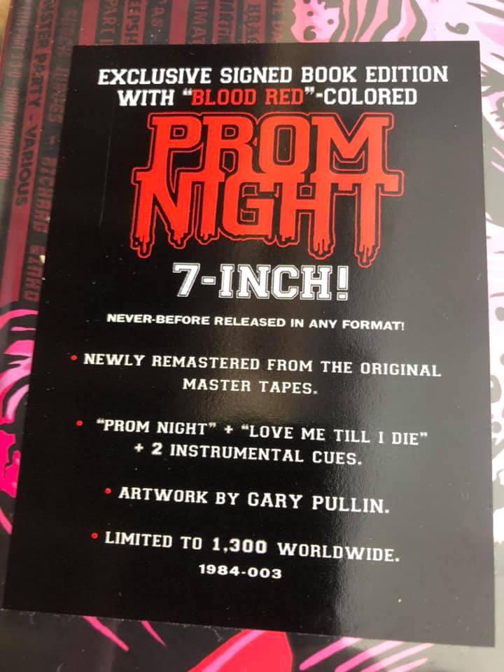 prom night 7-inch