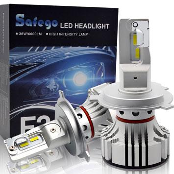 Come scegliere le lampadine H4 LED per auto